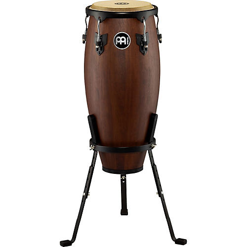 Meinl Headliner Designer Wood Conga with Basket Stand Vintage Wine Barrel 10 in.
