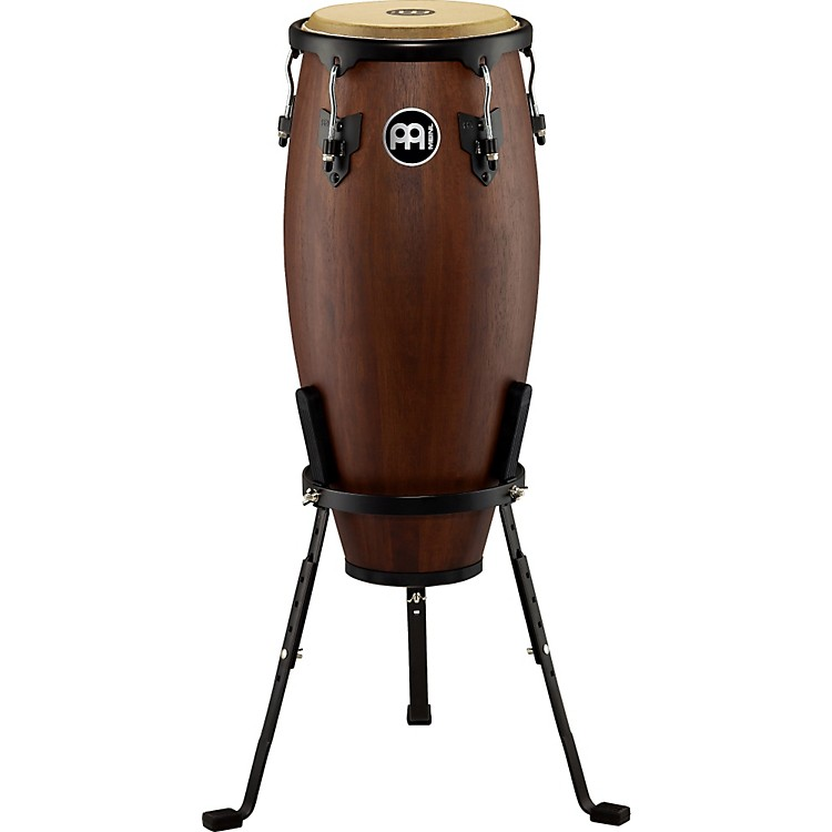 Meinl Headliner Designer Wood Conga with Basket Stand Vintage Wine Barrel 10-inch