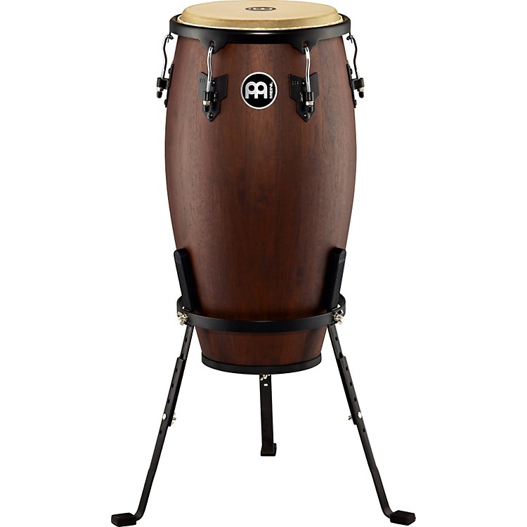 Meinl Headliner Designer Wood Conga with Basket Stand Vintage Wine Barrel 12-inch