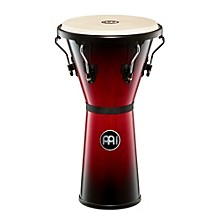 Meinl Headliner Series Wood Djembe Wine Red Burst 12.50 in.