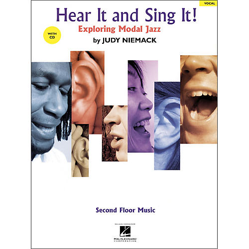 Hal Leonard Hear It And Sing It! Exploring Modal Jazz Book/CD