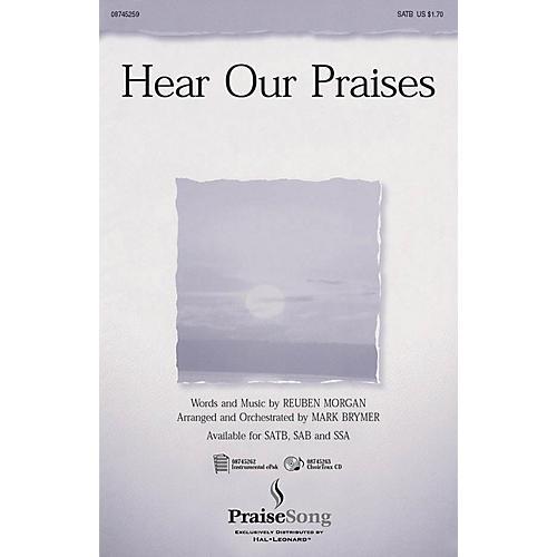 PraiseSong Hear Our Praises SATB arranged by Mark Brymer-thumbnail