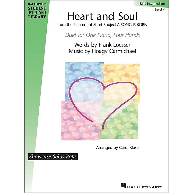 Hal LeonardHeart And Soul - Showcase Pops Level 4 Duet Hal Leonard Student Piano Library by Carol Klose