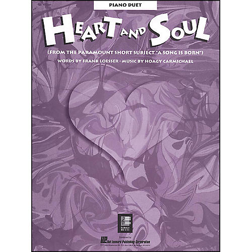 Hal Leonard Heart And Soul Piano Duet From A Song Is Born-thumbnail