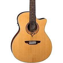 Luna Guitars Heartsong 12 String with USB Acoustic Electric Guitar Level 1 Natural