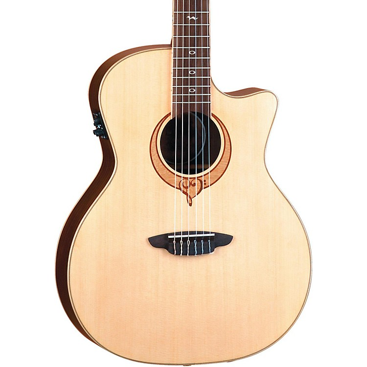 Luna GuitarsHeartsong Nylon Acoustic Electric Guitar With USBNatural
