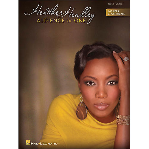 Hal Leonard Heather Headley Audience Of One (Piano/Vocal) arranged for piano, vocal, and guitar (P/V/G)-thumbnail