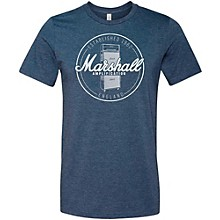 Marshall Heather Soft Style Ring Spun Cotton T-Shirt Established Navy Extra Large