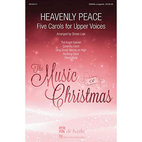 De Haske Music Heavenly Peace (Five Carols for Upper Voices) SSSAA A Cappella arranged by Simon Lole-thumbnail