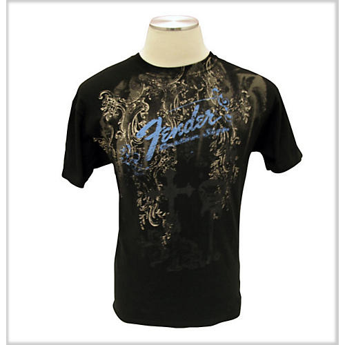 Fender Heaven's Gate T-Shirt Black Large