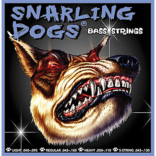 Snarling Dogs Heavy Bass Guitar Strings
