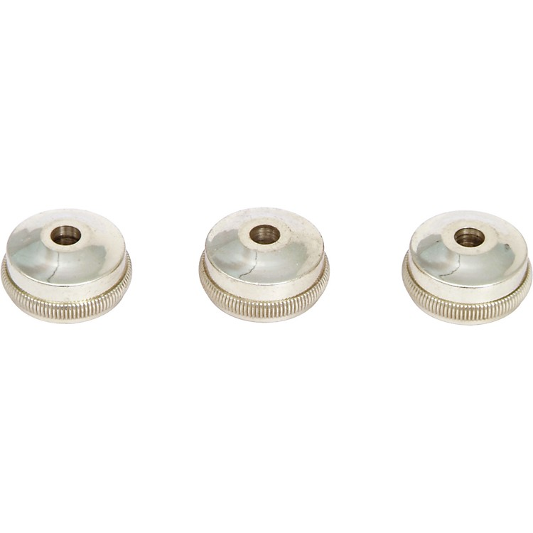 Bach Heavy Bottom Valve Caps for Trumpet Gold-Plated - Set Of Three