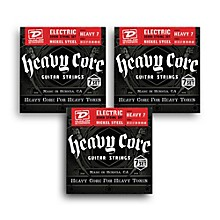 Dunlop Heavy Core 7-String Heavy Gauge Electric Guitar Strings - 3-Pack