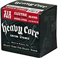 Dunlop Heavy Core Electric Guitar Strings Heavier 6-Pack  Thumbnail