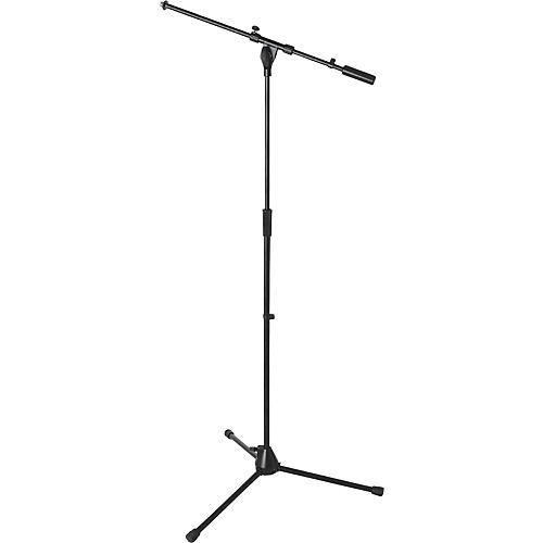On-Stage Stands Heavy-Duty Euro Boom Mic Stand Black