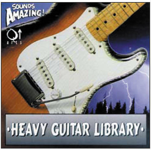 Q Up Arts Heavy Guitars Audio CD