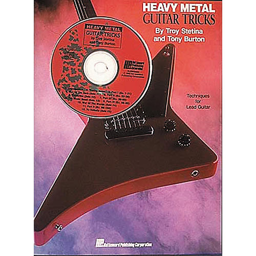 Hal Leonard Heavy Metal Guitar Tricks (Book and CD Package)-thumbnail
