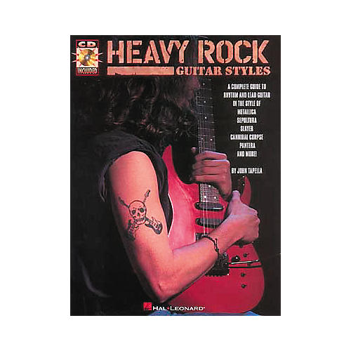Hal Leonard Heavy Rock Guitar Styles Book and CD-thumbnail