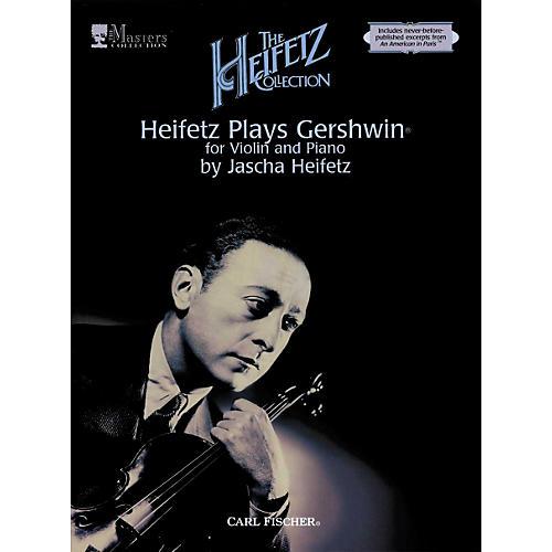 Carl Fischer Heifetz Plays Gershwin