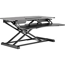 BK Media Height Adjustable Work Station Black