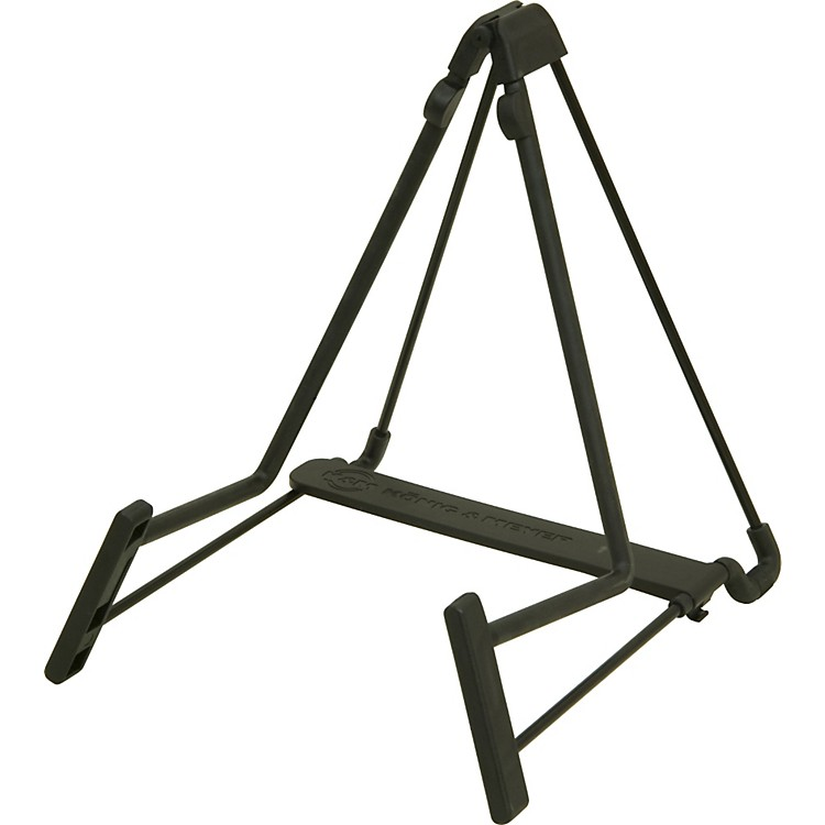 K&M Heli Acoustic Guitar, Cello, and French Horn A-Frame Stand