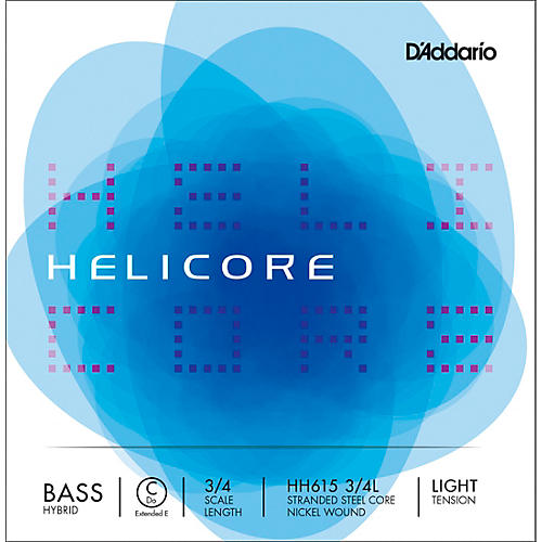 D'Addario Helicore Hybrid Series Double Bass C (Extended E) String