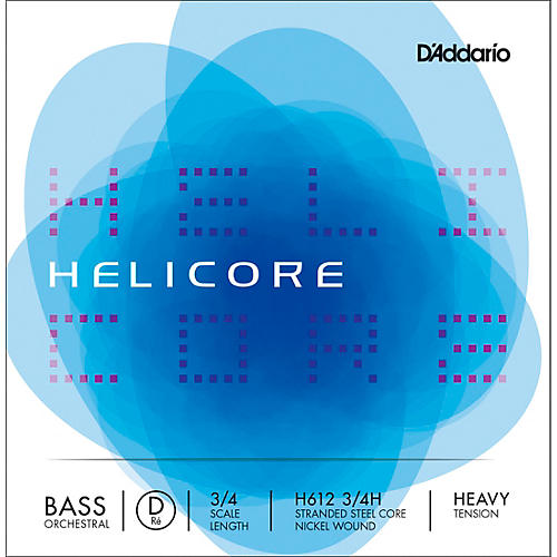 D'Addario Helicore Orchestral Series Double Bass D String-thumbnail
