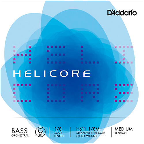 D'Addario Helicore Orchestral Series Double Bass G String-thumbnail