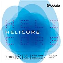 D'Addario Helicore Series Cello A String 1/4 Size