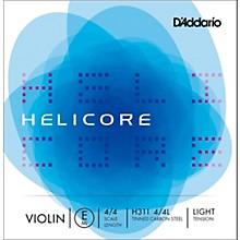 D'Addario Helicore Series Violin E String 4/4 Size Light