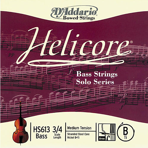D'Addario Helicore Solo Bass Strings-thumbnail
