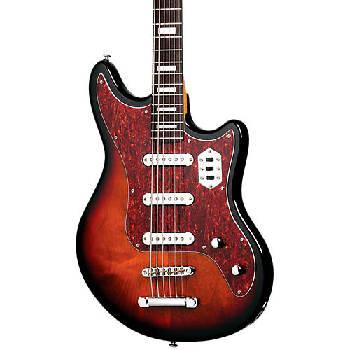 Schecter Guitar Research Hellcat VI Electric Guitar 3-Tone Sunburst