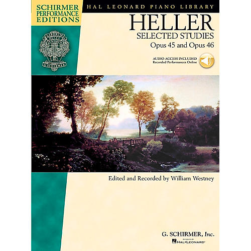 G. Schirmer Heller: Selected Studies Op 45 And Op 46 Book/CD Schirmer Performance Edition By Heller / Westney-thumbnail