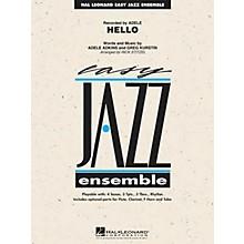Hal Leonard Hello Jazz Band Level 2 by Adele Arranged by Rick Stitzel