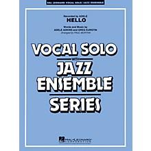Hal Leonard Hello (Key: Fmi) Jazz Band Level 3-4 Composed by Greg Kurstin