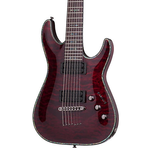 Schecter Guitar Research Hellraiser C-1 Passive 7-String Electric Guitar-thumbnail