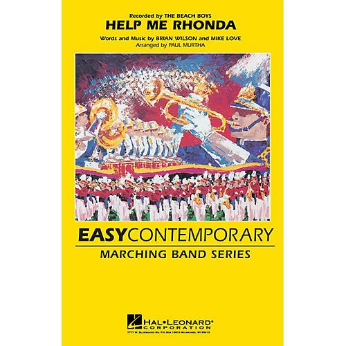 Hal Leonard Help Me Rhonda Marching Band Level 2-3 by The Beach Boys Arranged by Paul Murtha-thumbnail