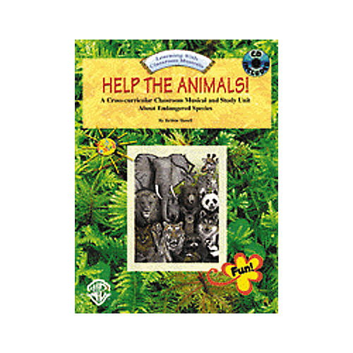 Alfred Help The Animals Book and CD