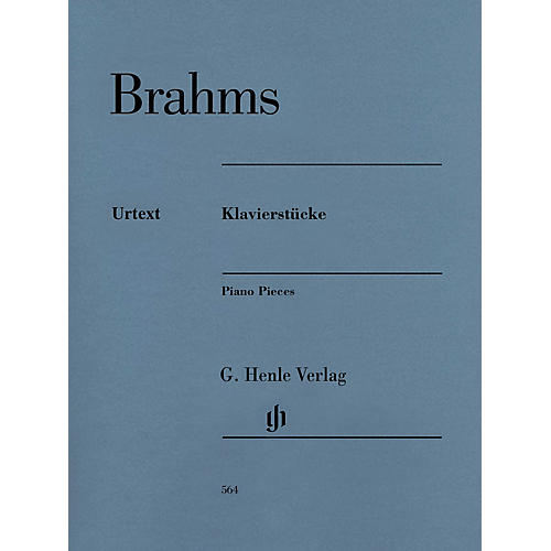 G. Henle Verlag Henle Music Folios Series: Klavierstucke [Piano Pieces] (Revised Edition) Softcover Book-thumbnail