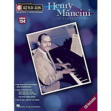 Hal Leonard Henry Mancini (Jazz Play-Along Volume 154) Jazz Play Along Series Softcover with CD