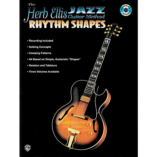 Alfred Herb Ellis Jazz Method - Rhythm Shapes Book/CD