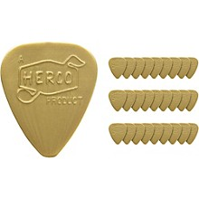 Dunlop Herco Vintage 66' Light Picks Gold (36-Pack)