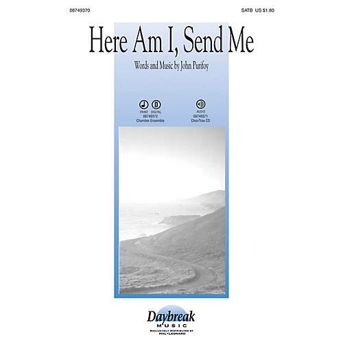Daybreak Music Here Am I, Send Me Instrumental Pak - Special Arranged by John Purifoy-thumbnail
