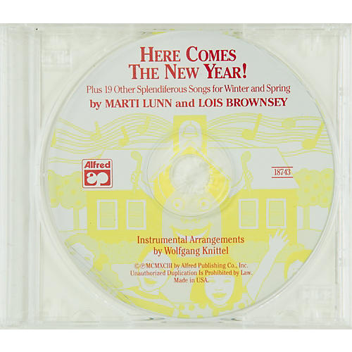Alfred Here Comes the New Year! SoundTrax CD