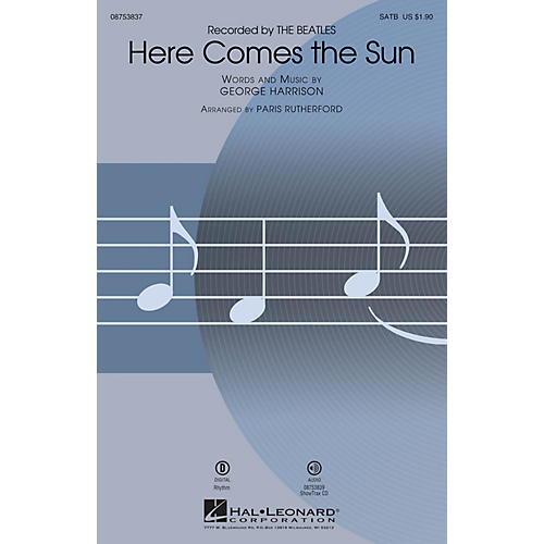 Hal Leonard Here Comes the Sun SATB by The Beatles arranged by Paris Rutherford-thumbnail