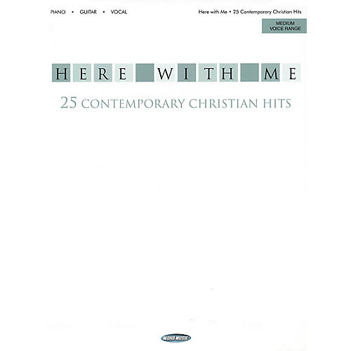 Word Music Here with Me (25 Contemporary Christian Hits) Book Series Performed by Various-thumbnail