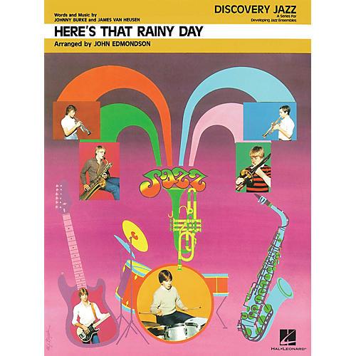 Hal Leonard Here's That Rainy Day Jazz Band Level 1-2 Arranged by John Edmondson-thumbnail