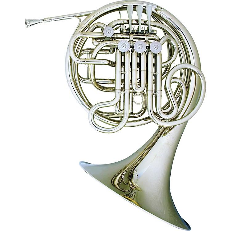Hans HoyerHeritage 6802 Bb/F Double French Horn String MechanismNickel