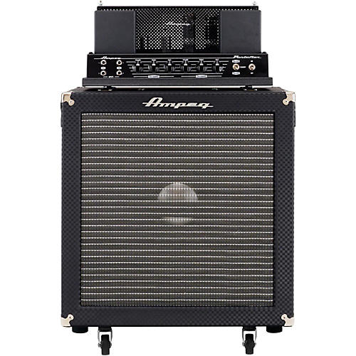 Ampeg Heritage B-15N Flip-Top 30W 1x15  Bass Stack Black