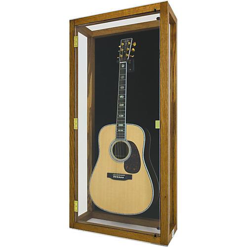 Display and Play Heritage Heirloom Acoustic Guitar Display Case